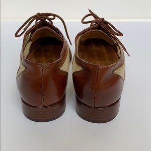 Ralph Lauren Shoes - RALPH LAUREN COLLECTION Brown/Beige Oxfords